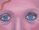 CELIA *(EYES, NOSE & LIPS IN BLUE & PINK)